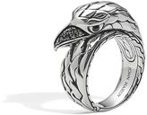 John Hardy Eagle Ring with Black Sapphire