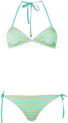 Missoni Mare Striped Towelling Bikini Set