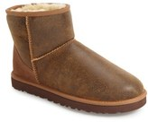 Men's Ugg Classic Mini Bomber Boot With Genuine Shearling Or Uggpure(TM) Lining