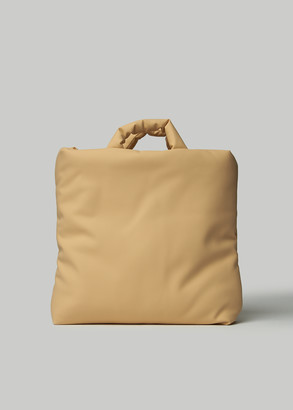 Kassl Medium Rubber Bag in Nude