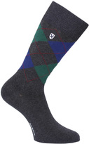 Barbour Birtley Grey Melange Argyle Socks