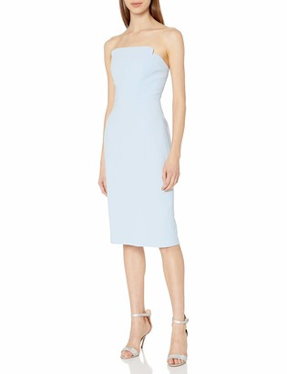 Jill Stuart Jill Women's Strapless Column Midi Dress