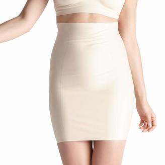 Yummie Women's Hidden Curve High Waist Firm Control Shapewear Skirt Slip