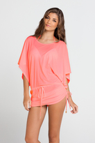 Luli Fama Cosita Buena Cover Ups South Beach Dress In Hot Mess (L177968)