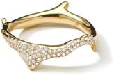 Ippolita 18k Diamond Stardust Branch Ring