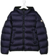 Moncler teen hooded padded jacket