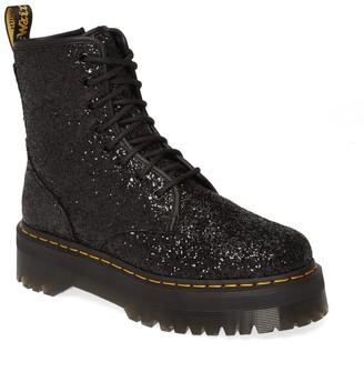 Dr. Martens Jadon Glitter Platform Boot