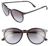 Ray-Ban Women's 53Mm Gradient Lens Retro Sunglasses - Black