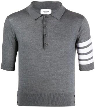 Thom Browne Merino wool polo shirt