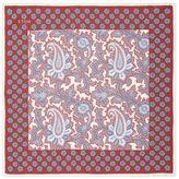 Eton Silk Paisley Pocket Square
