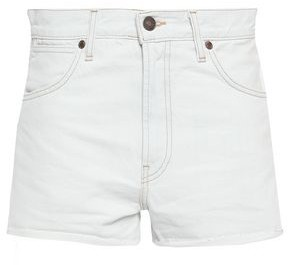 RE/DONE Frayed Denim Shorts