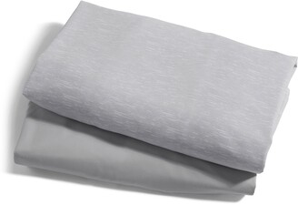 Baby Jogger City Suite(TM) 2-Pack Waterproof Fitted Playard Sheets