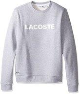 Lacoste Men's Long Sleeve Camo Logo Fleece