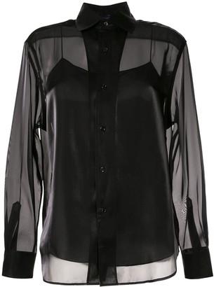 Ralph Lauren Collection Satin Structured Shirt