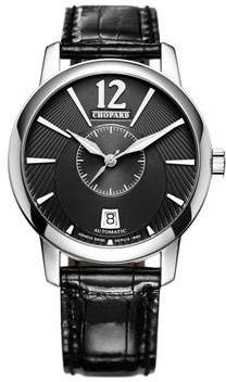 Chopard L.U.C. Classic Twin Automatic Black Dial Men's Watch
