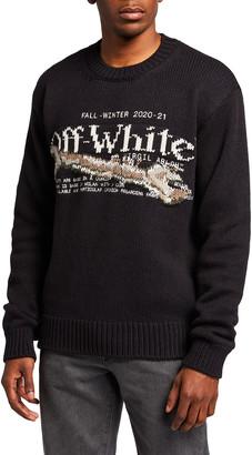 Off-White Men's Pascal Tool Crewneck Sweater