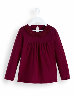 Amazon Brand - RED WAGON Girl's Long Sleeve Party Top