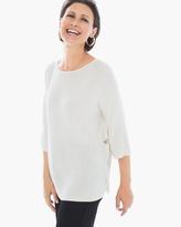 Chico's Side-Button Nicolette Pullover