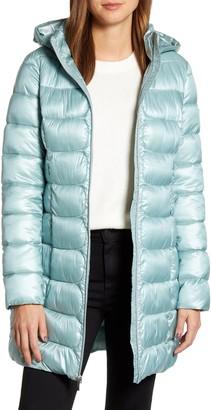 Via Spiga Three-Quarter Packable Puffer Jacket