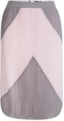 Boss By Hugo Boss Colorblock Plisse Verylla Skirt L