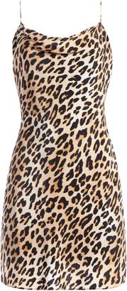 Alice + Olivia Harmony Leopard Mini Dress