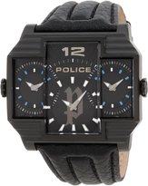 Police Men's PL13088JSB/02 Classic Analog Watch with 2 Hands, 3-Piece