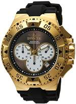Invicta Men's 'Excursion' Quartz Stainless Steel and Silicone Casual Watch