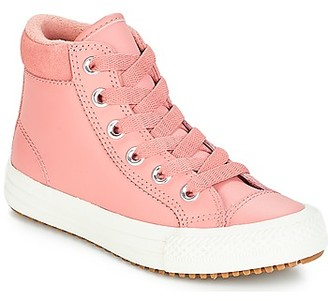 Converse CHUCK TAYLOR ALL STAR PC BOOT HI girls's Shoes (High-top Trainers) in Pink