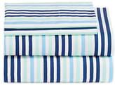 Martha Stewart Brush Stripe Four-Piece Sheet Set