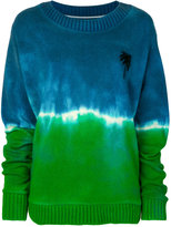 The Elder Statesman palm tree sweater - men - Cashmere - M