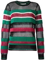 Etoile Isabel Marant striped jumper - women - Polyester/Viscose - 36