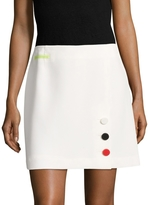 Anne Klein Women's Even Crepe A line Skirt
