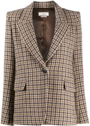 Etoile Isabel Marant Kerstin checked blazer