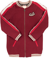 "Scotch R'Belle ""ROCK R'BELLE\"" ELONGATED BOMBER JACKET-RED SIZE 8"