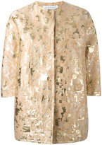 Gianluca Capannolo patterned jacket - women - Cotton/Polyamide/Polyester/Acetate - 42