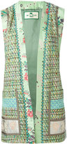 Etro opened waistcoat - women - Silk/Cotton/Acrylic/Viscose - 44