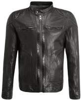 Oakwood CANYON Leather jacket khaki