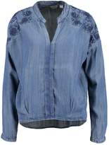 Khujo GARDEIA Blouse stone blue denim
