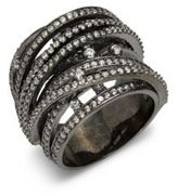 Noir Crystal Ring