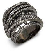 Noir Crystal Ring