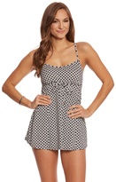 Penbrooke Center Spot Empire Swimdress 8150428