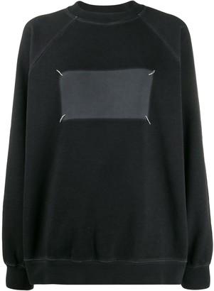 Maison Margiela 'Memory of' logo sweater