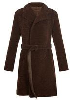 Bottega Veneta Peak-lapel Shearling Coat