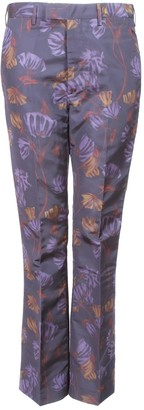 Prada Multicolour Silk Trousers