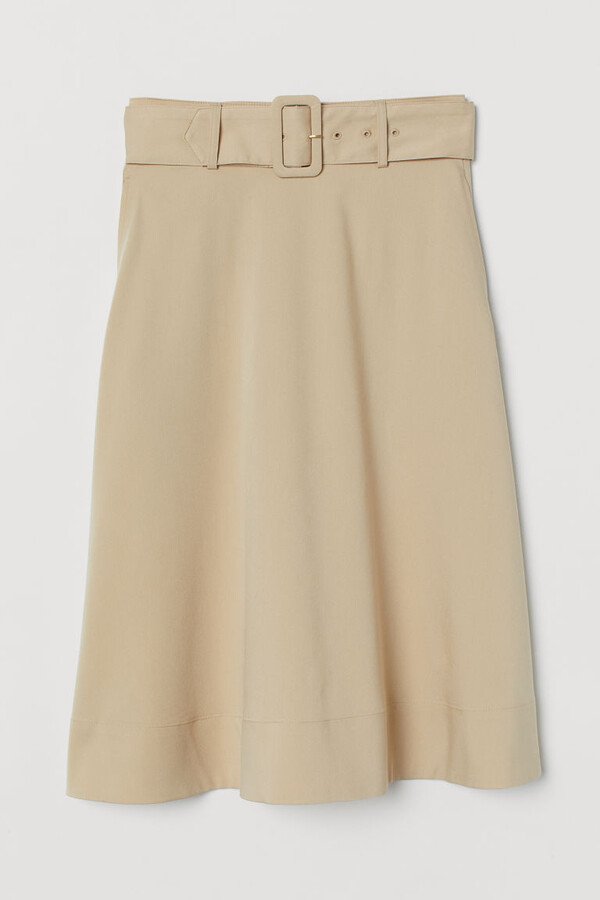 Thumbnail for your product : H&M Belted skirt