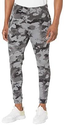 Nike Dry Pants Taper Camo (Black/Grey Fog) Men's Casual Pants