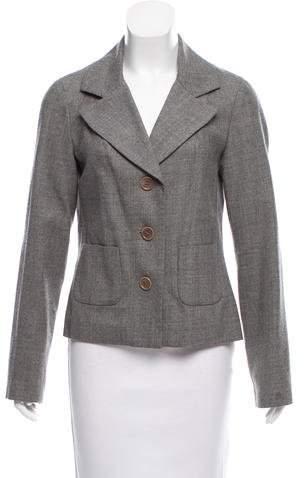 Tory Burch Tailored Wool Blazer