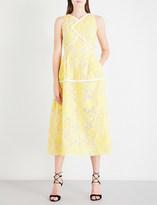 Roland Mouret Letwell brocade dress