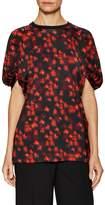 Givenchy Women's Floral Print Blouse