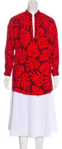 Mikoh Printed Long Sleeve Tunic w/ Tags